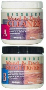Messmer's Cleaner and Brightener Jars