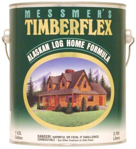 Messmers Timberflex Log Home Finish