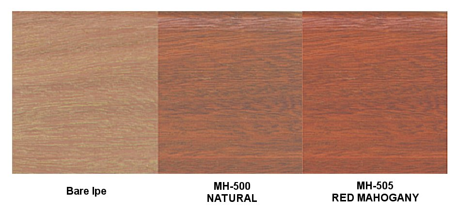 Messmers UV Plus for Hardwoods Colors