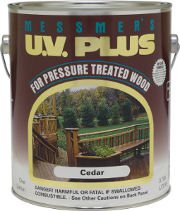 Messmer S Uv Plus For Pressure Treated Wood