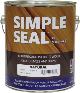 Simple Seal by Messmers - Wood Finish